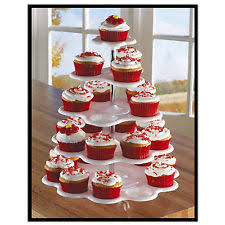 5 tier cupcake stand adorox white plastic 5 tier cupcake stand tower holder display