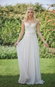 chiffon wedding dresses chiffon wedding dresses flowy bridal gowns dressafford