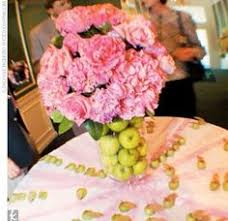 Apple Centerpiece Ideas by Venue At The Grove Apples And Flowers Inexpensive Gorgeous