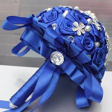Fowers Color Holding Artificial Fowers Wedding Bouquet Durable Holding