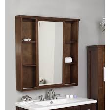Wood Mirrors Bathroom Enthralling Cherry Wood Bathroom Medicine Cabinets Using