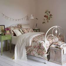 interior design shabby chic shabby chic bedroom interior design with floral bed cover along