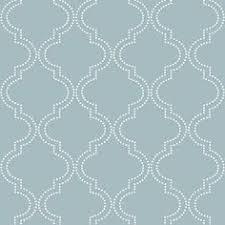 blue quatrefoil wallpaper 12 31cm wallpaper sample gray quatrefoil nu wallpaper peel and
