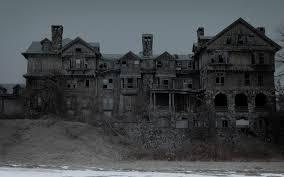 spooky abandoned house creepy wallpaperspics