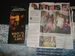 halloween horror nights 2002 hhn hollywood memorabilia halloween horror nights hollywood