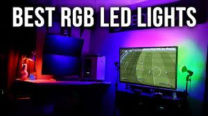 purple led lights for computers cool rgb led lights youtube