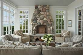 Interior Designers Michigan by Glenn Beach Cottage The Cottage Company Harbor Springs