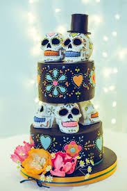 day of the dead wedding cake mexican day of the dead wedding on 91 mexico the