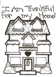 lds nursery color pages 31 i am thankful for my home