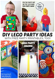lego party ideas free lego printables