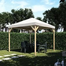 gazebo da giardino in legno prezzi gazebo nara copertura 3 14 x 3 14 m prezzi e offerte