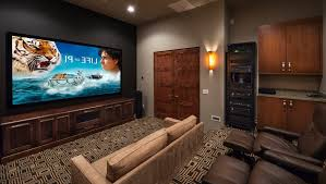 home theater cabinet design home theater contemporary with dark