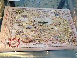 Map Of Oz The Great And Powerful Oz Tea At The London West Hollywood La