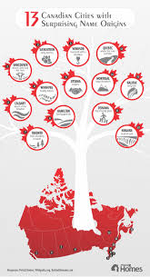 mean names 13 canadian cities with surprising name origins visual ly