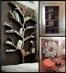 Tree Branch Bookshelf Diy 10 Creative Diy Bookshelf Projects