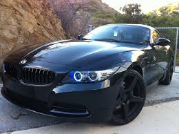 custom black bmw my z4 35i black bullet police chaser edition