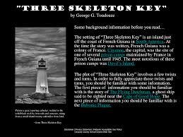 three skeleton key lessons tes teach