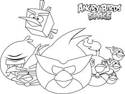 how to draw angry birds space characters coloring pages batch