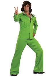 Halloween Costumes 70s Green 1970s Leisure Suit Men U0027s 70s Disco Halloween Costumes