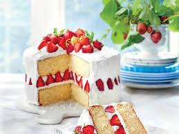 Cake Strawberry Dream Cake Recipe Myrecipes