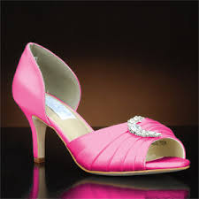 wedding shoes pink hot pink wedding shoes my glass slipper