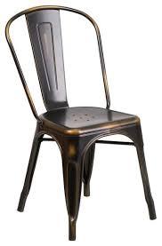 Vintage Metal Dining Chairs Cleaveland Indoor Outdoor Stackable Chair Industrial Outdoor