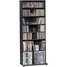 Sauder Bookcases by Sauder Palladia Audio Media Tower Cherry Walmart Com