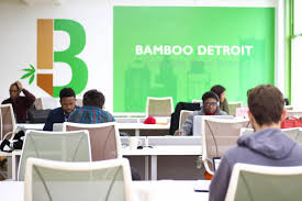 under the table jobs in detroit bamboo detroit office space detroit coworking space