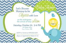 Mcdonalds Invitation Card Boy Baby Shower Invitation