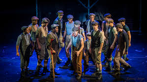 review u0027extra extra u0027 newsies is a runaway hit at red mountain