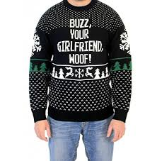 home alone sweater buzz your woof home alone sweater