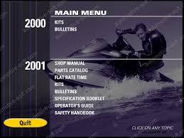 100 2000 seadoo bombardier gtx operators manual amazon com