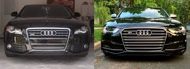 audi headlights poster b8 vs b8 5 a4 s4 facelifts u2013 modded euros blog