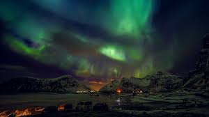 pictures with lights behind them northern lights the scientific explanation behind them