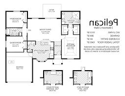 Floor Plans For 3 Bedroom Houses Home Design Floor Plans 3 Bedroom 2 Bath House With Garage 87