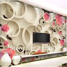custom photo wallpaper bright pink roses3d wall murals free custom photo wallpaper bright pink roses3d wall murals free shipping simple personalized 3d tv background living room bedroom stickers rose
