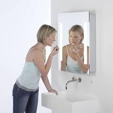 Bathroom Mirror Shaver Socket Mirror Design Ideas Stainless Steel Illuminated Bathroom Mirror