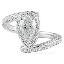 diamond shaped rings images 1 20 ct pear shape diamond engagement ring jpeg