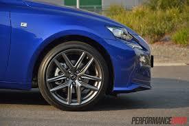 lexus is300h f sport 2013 lexus is 300h f sport 18in wheels