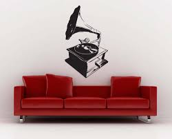 popular musical wall murals buy cheap musical wall murals lots dsu old art record player vintage wall mural fashion style anitque phonograph wall mural music series
