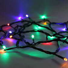 led christmas lights 33 feet with connector and controller