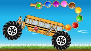 monster truck kid videos scorpion bus monster truck colors for kids kids video