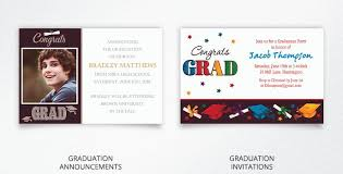 personalized graduation announcements graduation invitations for high school college 2016 party city