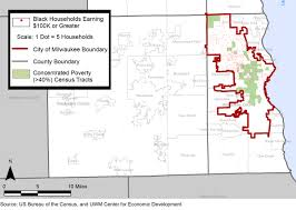 Milwaukee Zip Codes Map by Data Draws Link Between Metro Milwaukee U0027s Segregation And Poverty