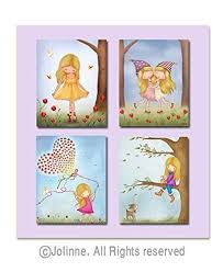 Prints For Kids Rooms by Personalized Art Prints For Girls Room Illustrations Sisters