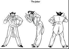 joker coloring pages printable batman free mask cartoon joker mask