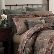 bedding croscill bedding ava leaf comforter by normandy beautiful