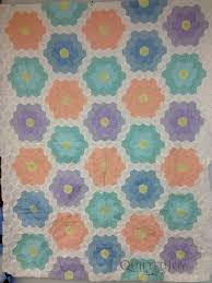 grandmother u0027s flower garden quilt makeover