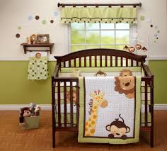 Curly Tails Crib Bedding Nojo Bedding Jungle Pals 4 Crib Set