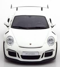 porsche white gt3 gt spirit porsche 911 991 gt3 rs white zm106 model car 1 18